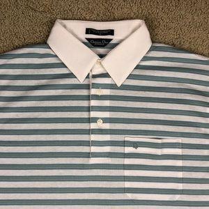 Dior Shirts   Christian Monsieur Polo Shirt Mens Large   Poshmark b168433d55b